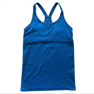 Lululemon Ebb to Street Tank Blue